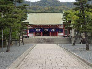 亀山神社の御朱印(広島県呉市)