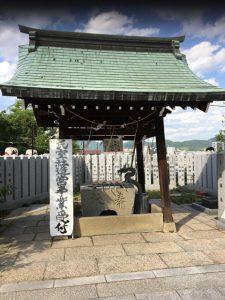 邇保姫神社(にほひめじんじゃ)(広島市南区)手水舎