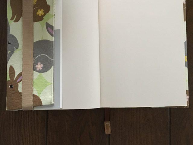 うさぎのブックカバー