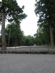 伊勢神宮外宮(豊受大神宮)心御柱の覆屋