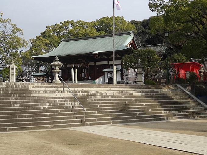 饒津神社(にぎつじんじゃ)(広島市東区)