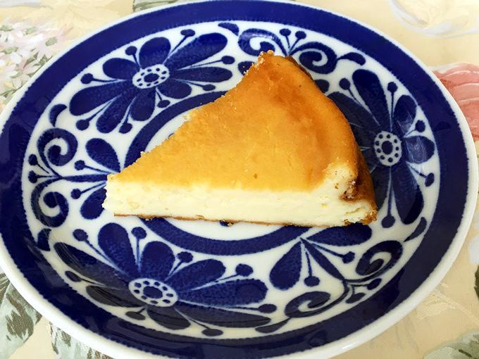 YAGI CAFEのベイクドチーズチーズケーキ(広島県・安浦町安登)